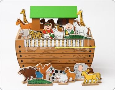 Maqueta Arca de Noé