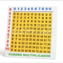Tablero multiplicador en cuadro