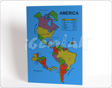 Rompecabezas América