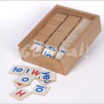 Caja de Sílabas y ABC