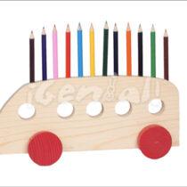 Lapicero autobús colores