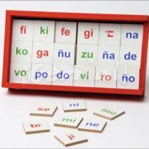 Juego de Silabas Simples