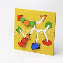 Tablero Pista Figuras Geométricas