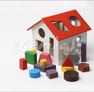 Casa de figuras Geométricas