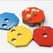 Cubi color (Ensarte Octagonal)