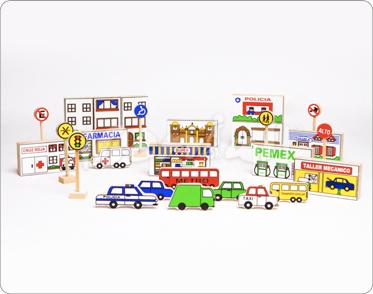 Maqueta Ciudad en Bolsa